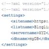 Werte in XML schreiben und auslesen