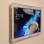 DIY: Tablet-Wandhalterung
