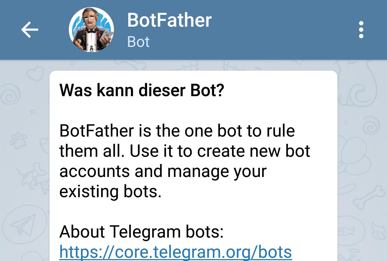 OctoPrint-Telegram für Benachrichtigungen