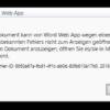 Word-Dokument in SharePoint 2010 kann nicht geöffnet werden