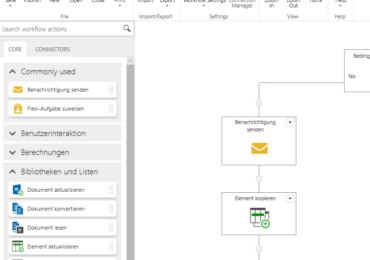 PDF-Dokument mit Nintex Workflow 2019 generieren